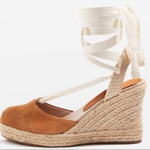 TOPSHOP Espadrilles waves wedge heel sandals !!